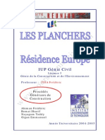 Expose Etudiants Planchers Procedes Generaux de Construction