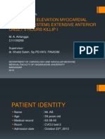 St Segment Elevation Myocardial Infarction (Stemi) Angga