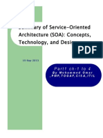 I-Summary of Service-Oriented Architecture (SOA) Concepts, Technology, And Design p1