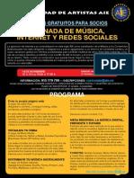 Jornada AIE de M+¦sica Internet y Redes Sociales - Madrid 14Nov13