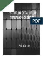 aula 7-Formatação do trabalho científico