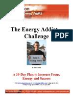 10 Day Energy Plan