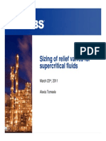 Supercritical Relief
