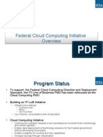 18031511 US Federal Cloud Computing Initiative Overview Presentation GSA