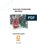 Gender Analysis Framework _CARE