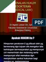 6. Pengenalan Hukum Kedokteran