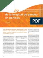Calculo de Longitud de Pandeo en Porticos