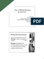 Bearing Failures-An Overview