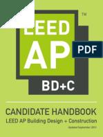 LEED AP BD+C Candidate Handbook 0