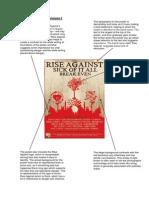 Music Album Poster Analysis 2