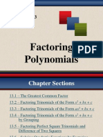 I_F. Factoring Polynomials