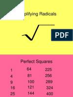 II B. Radicals