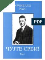 Dr. Rudolf Arcibald Rajs - Cujte Srbi