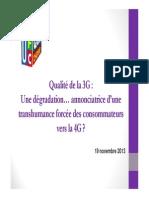Etude Ufc 3g