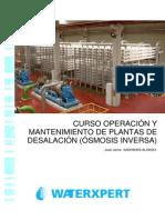 programa plantas desalación por osmosis inversa