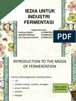 Medium Pada Industri Fermentasi. Edit