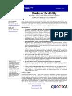 Business flexibility