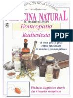 Marcio Bontempo - Homeopatia e Radiestesia