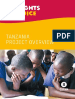 My Rights, My Voice Tanzania Project Overview