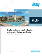 Build Exterior Walls Faster Using Drylining Methods En
