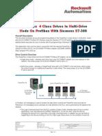 PowerFlex 4 Em Profibus S7-300