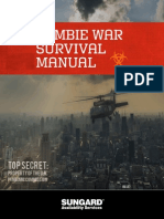 ZOMBIE WAR SURVIVAL & IT DISASTER RECOVERY MANUAL