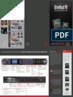 dbx DriveRack PA 2 Brochure