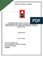 Generator KPC Specs
