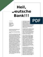 Heil, Deutsche Bank!