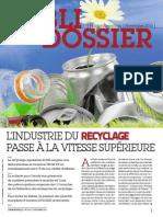 Publi-dossier recyclage 2013 - L'Usine Nouvelle n°3354