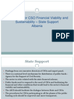 State Funding, Perliminary Findings_ Albania