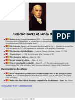 Works of James Madison