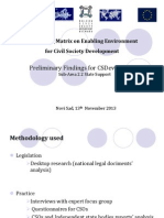 State Funding, Perliminary Findings_Serbia