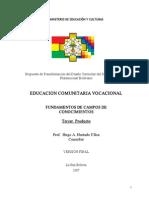 EDUCACION COMUNITARIA VOCACIONAL