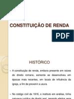 CONTITUIÇÃO DE RENDA THAIS