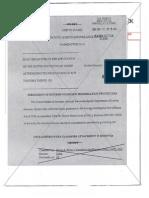 September 2006 Memo to FISC on FBI Procedures of Retaining Telephony Data