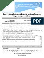 Prova 2_Redação, Língua Portuguesa, Literatura e Língua Estrangeira_Gabarito 1