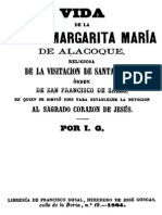 Vida de La Beata Margarita Maria de Alacoque