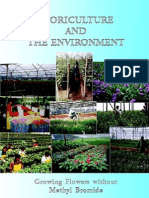 Floriculture and the Environment
