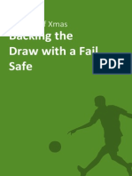 Backing the Draw With a Fail Safe
