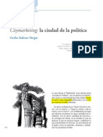 Citymarketing_La Ciudad de La Politica_Part1