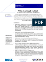 Why does email matter?