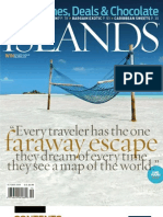 Islands Magazine October 2009 Cover Contents