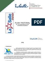 Plan Pastoral 2014