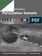 WPL Ltd Percolation Tunnel Manual