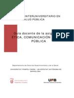 Etica Comunicacion SP