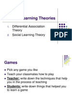 social learning theory games