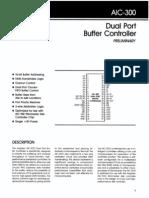 AIC-300 Dual Port Buffer ControllerAIC-300 Dual Port Buffer ControllerAIC-300 Dual Port Buffer Controller AIC-300 Dual Port Buffer Controller