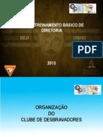 CTBD - 2013 -Organização do Clube