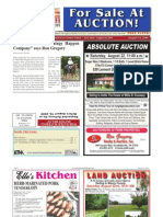 Americas Auction Report 8.14.09 Edition